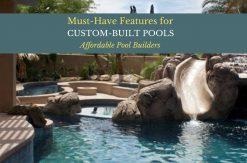custom-built pools